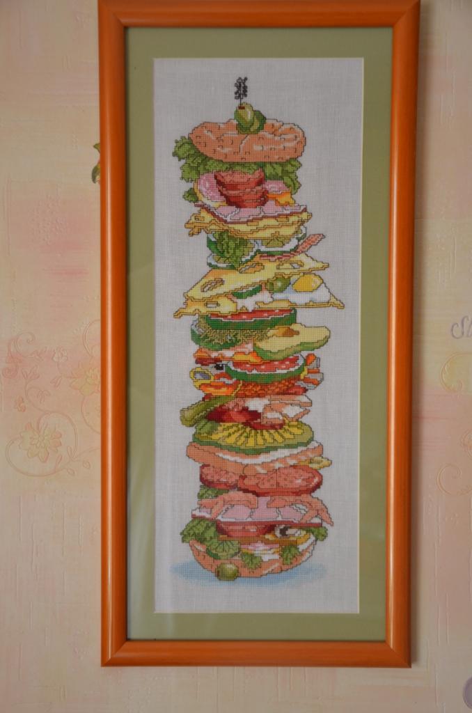 Бутерброд для сына, любителя