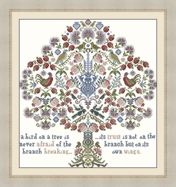 Вышивка дерево жизни схема