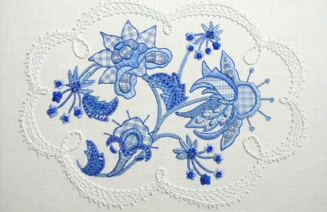 Искусство якобинской вышивки читать 155