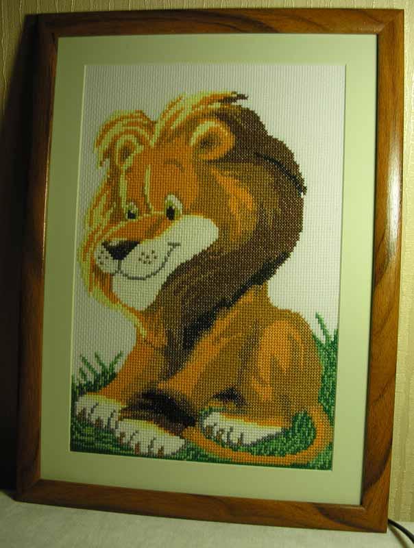 Царь зверей (размер 101х135