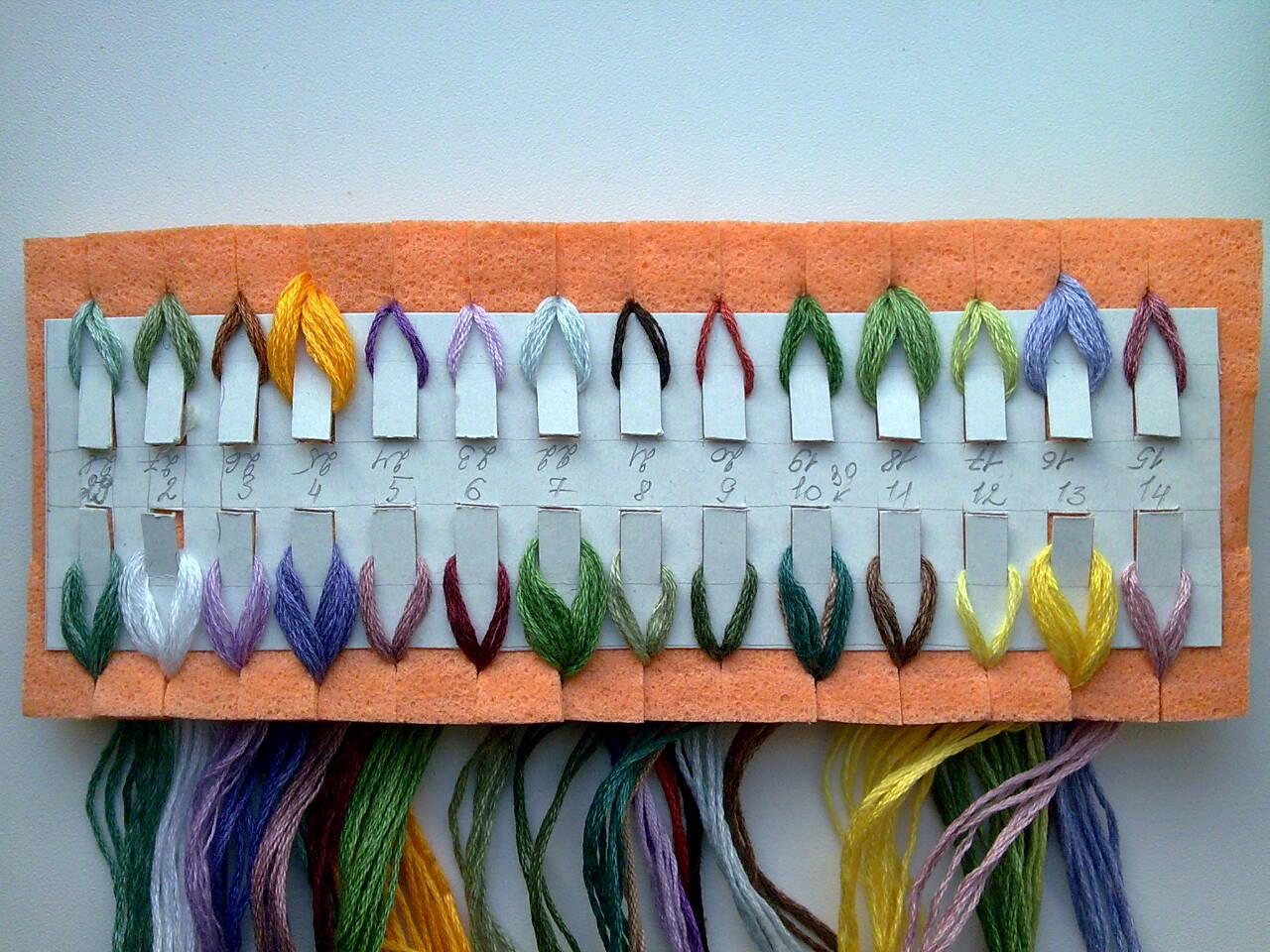 Органайзеры для вышивания крестиком своими руками 14