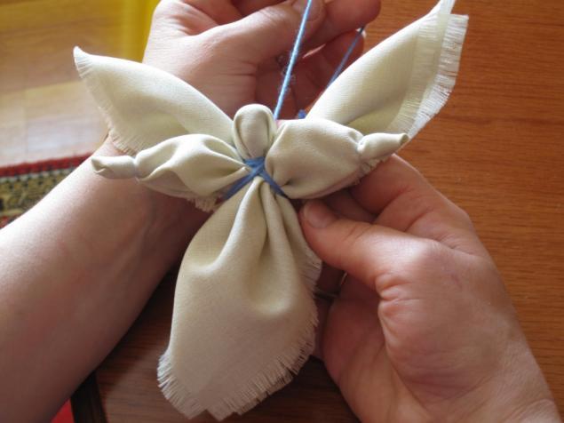 Мастер класс ангелочки из ткани своими руками