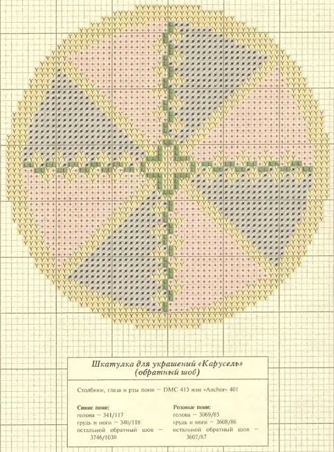Шкатулка (схема 1)