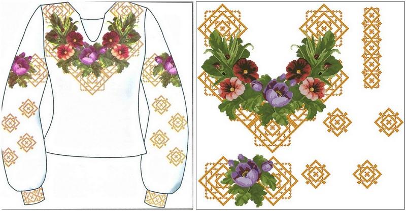 Готовые сорочки для вышивки