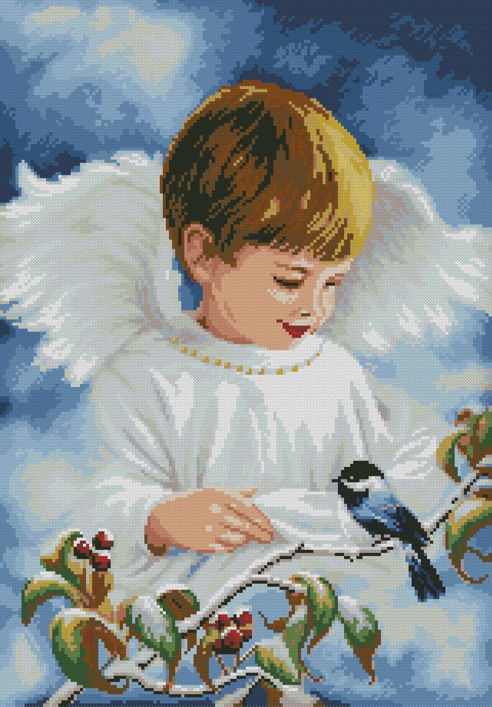 Схема вышивки my angel