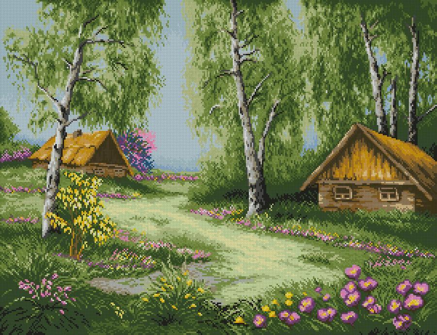 natalyysyaДеревенские пейзажи