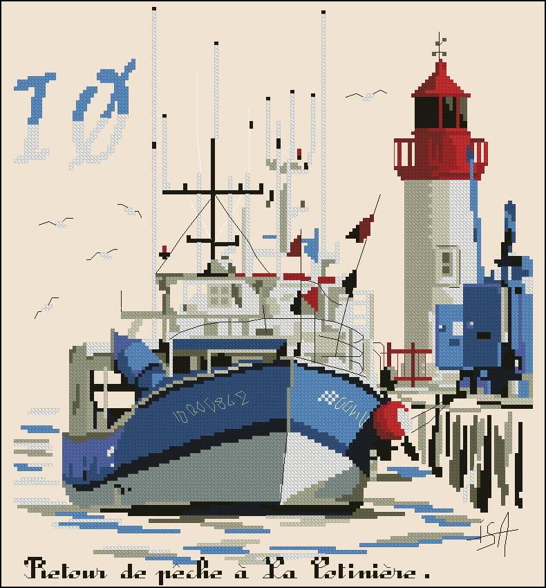 Au port de la Continiere
