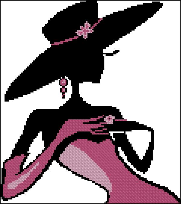 Glamorous lady