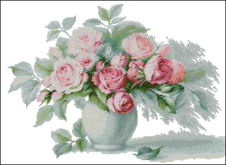 Crochiu cu trandafiri