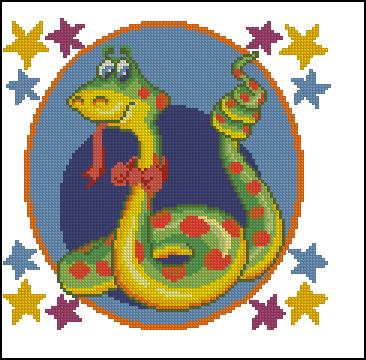 Восточный гороскоп - год Змеи