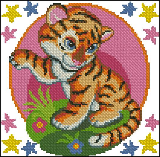 Восточный гороскоп - год Тигра