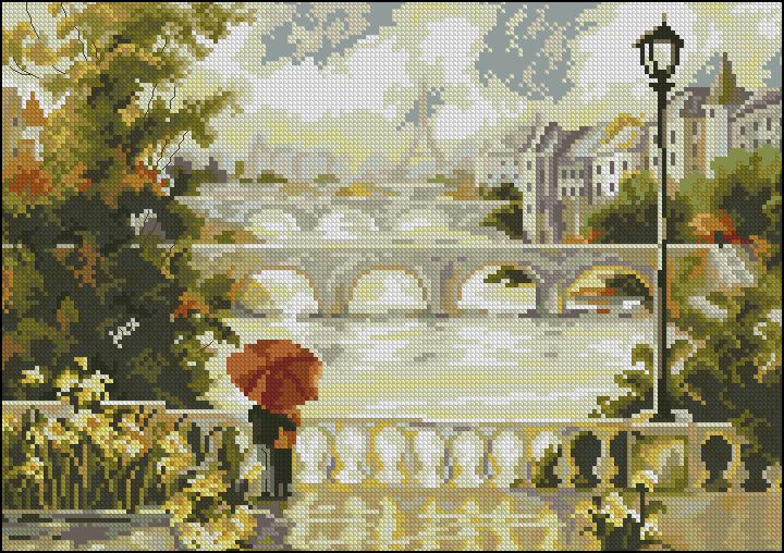Париж. Рассвет
