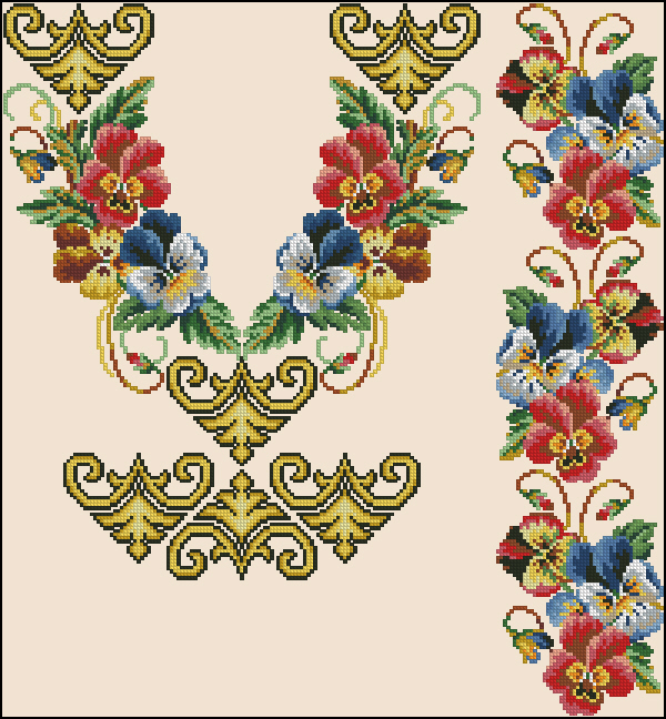 Описание: Схемы для вышивки