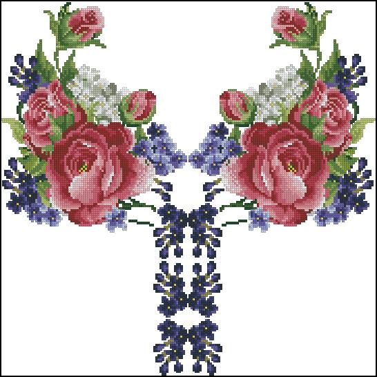сорочка женская Роскошь цветов