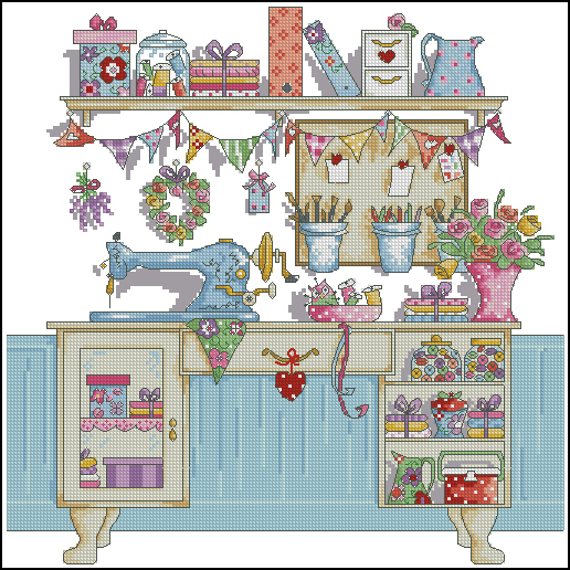 Sublime Sewing Room