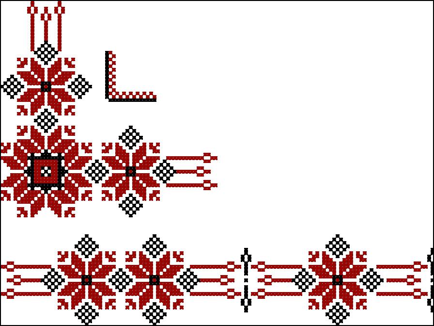 Удмуртская вышивка и орнамент 47