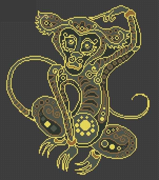 Символ 2016 года обезьяна