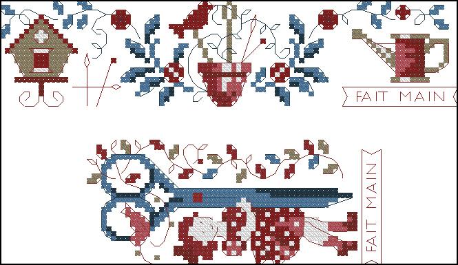 Схемы вышивки фаби рейли 100