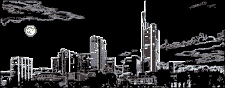 Схема города черно белая вышивка