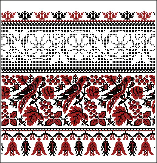 marakoУкраинская вышивка