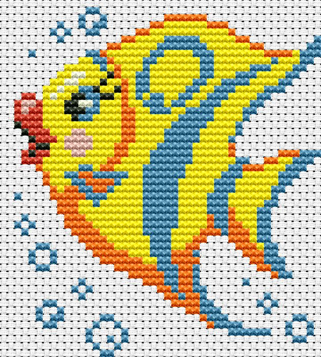 Схема искусница рыбка