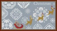 Snowy Christmas Quaker Style