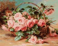Coș cu trandafiri (Корзина с розами)