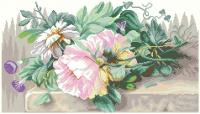 Peonies and Morning Glory