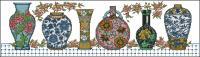 Vase row