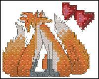 Влюбленные лисы