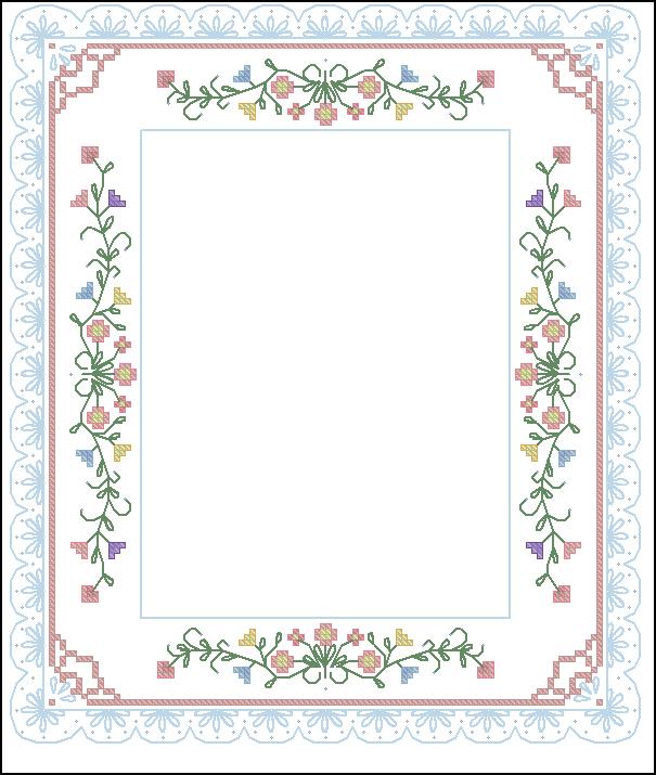 Рамки для вышивки крестом фото