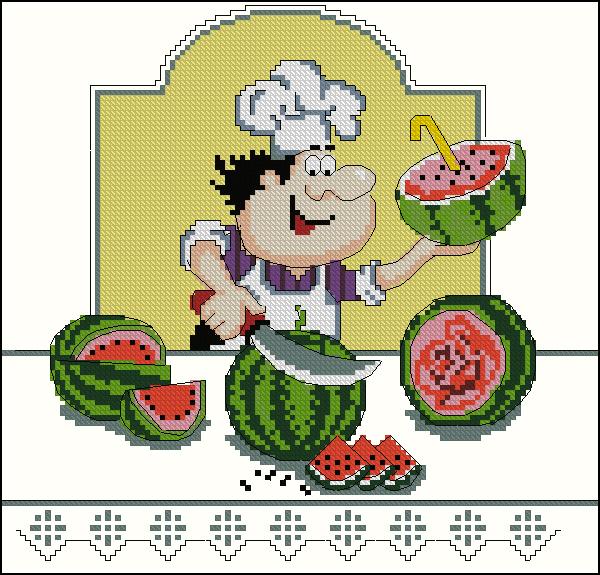 Я люблю арбузик