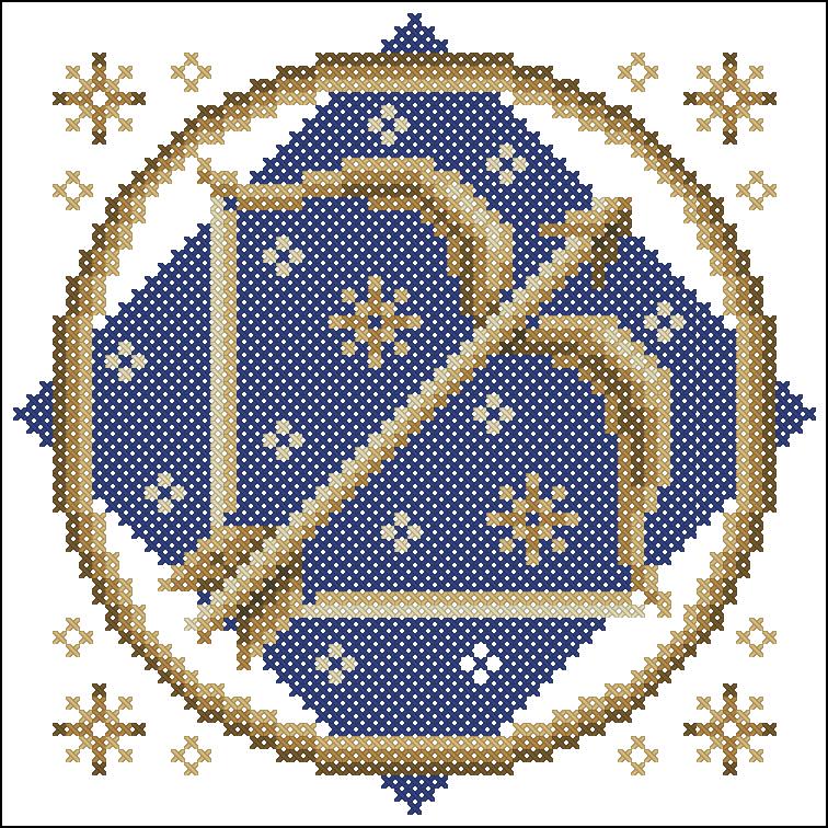 Вышивка крестиком-знаки зодиака-схемы