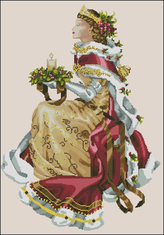 Королева вышивка скачать