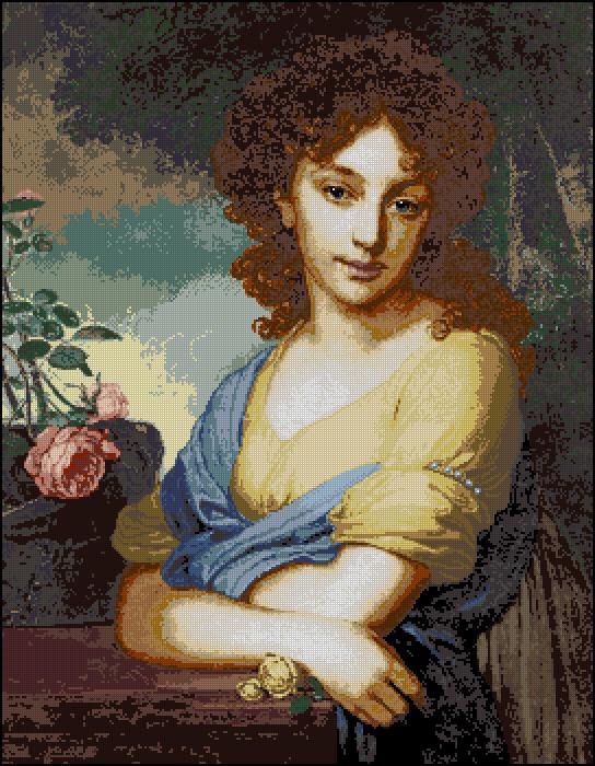 Портрет Нарышкиной