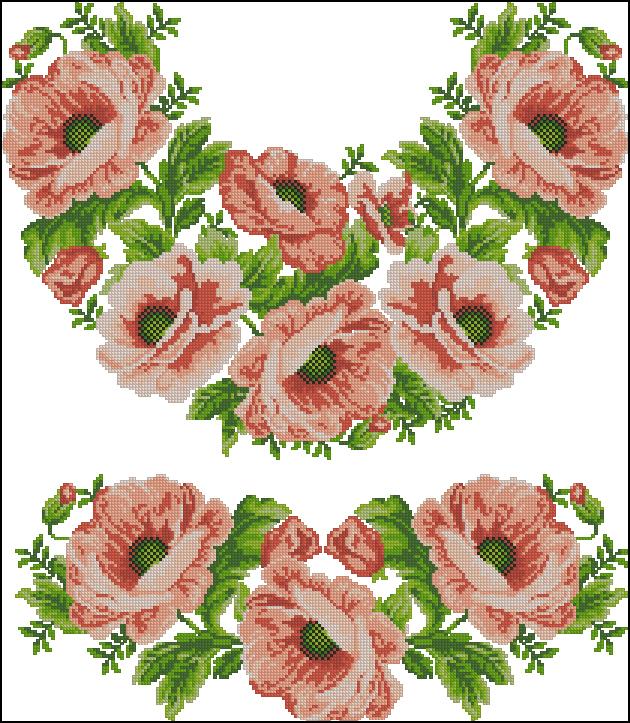"""Сорочка жiноча """"Рожеві"""