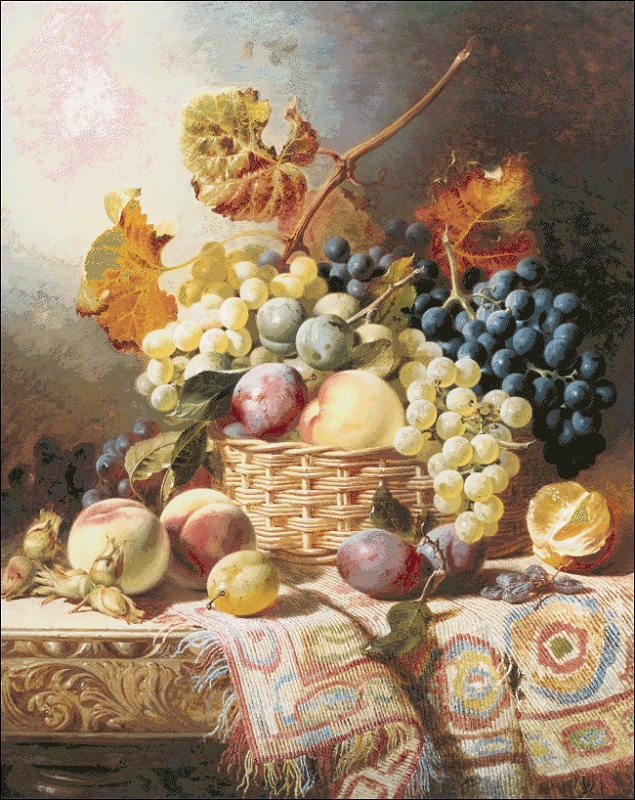 Still Life with Basket of