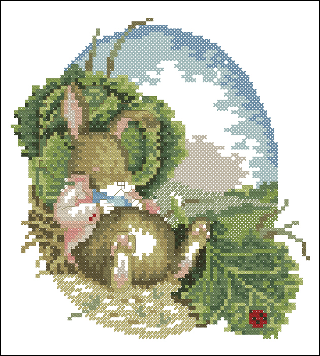 Cabbage Bunny