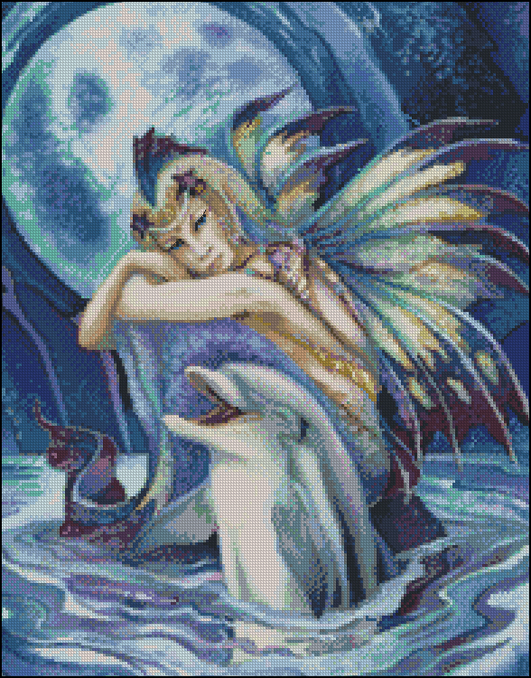 """Fantasea"" Dolphin Fairy"