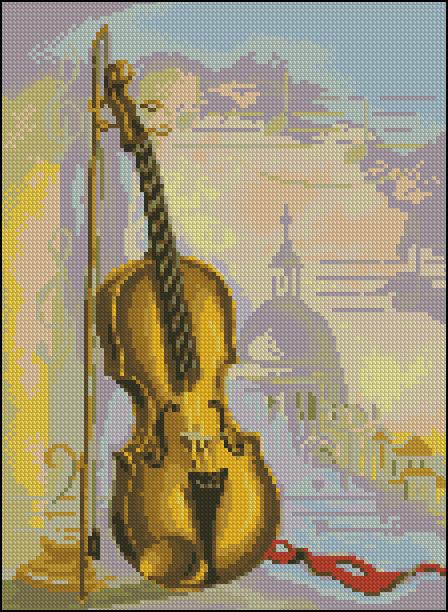 Зарисовка со скрипкой