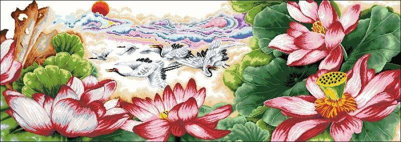 Lotus, Grus japonensis