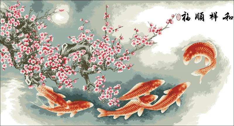 Рыбки и Сакура