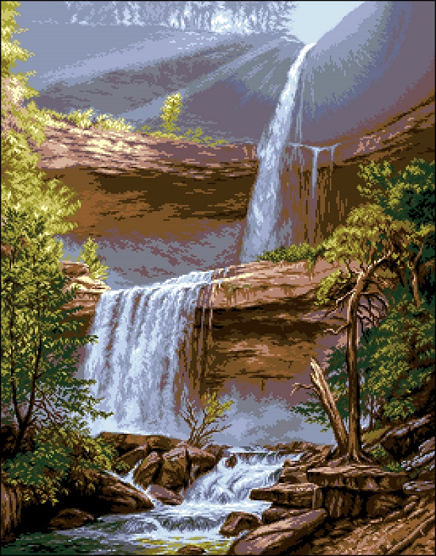 Катскильский водопад
