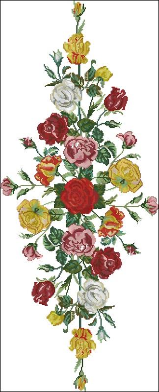 Дорожка из роз