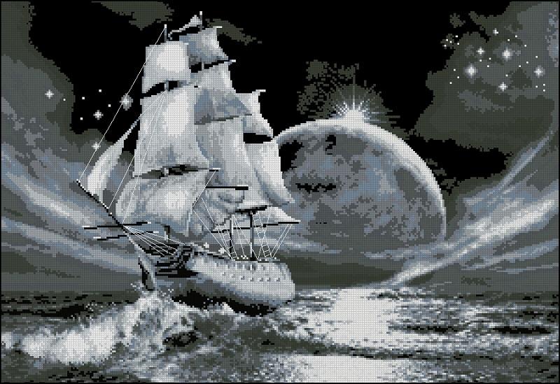 Скачать схемы вышивок лунная