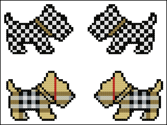 Скотч терьер схема вышивки крестом