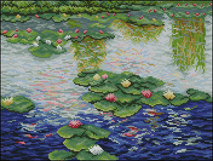 Claude Monet - Lilie Wodne