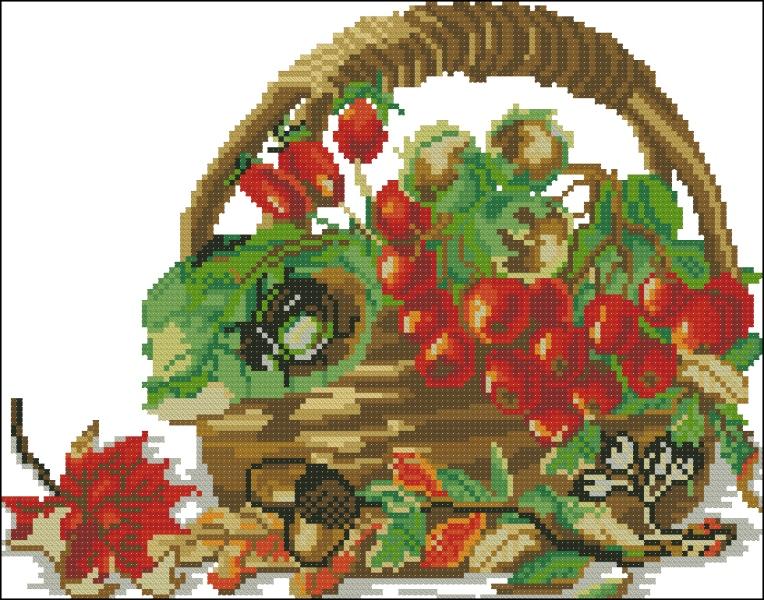 Рябина и орехи
