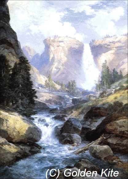 Waterfall in Yosemite