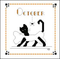 Black Cat  October